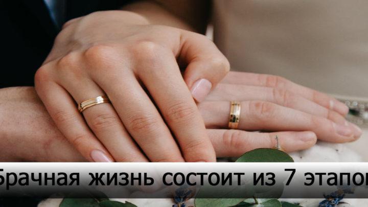 7 периодов жизни в браке