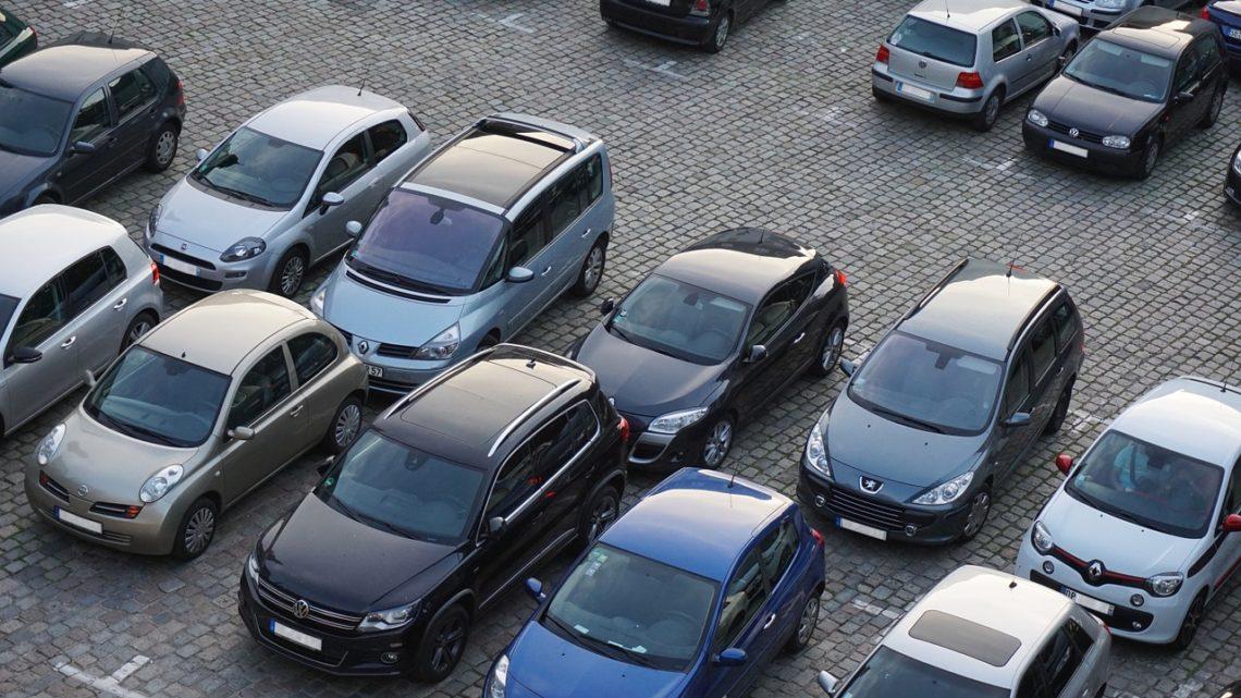 Правильная парковка – залог целой машины. Смешная история